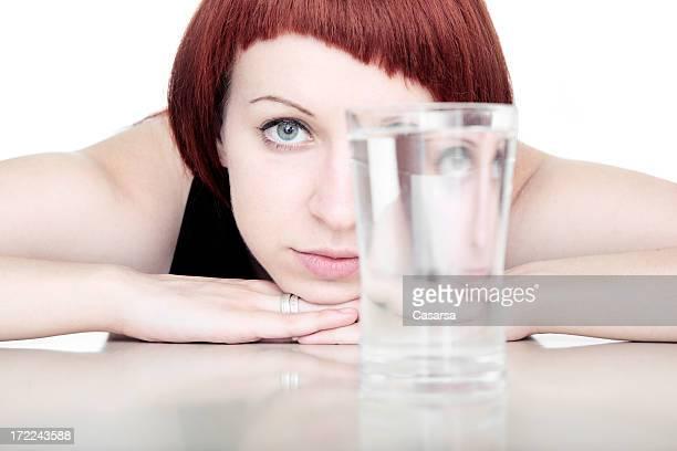 Moi et mes verre d'eau