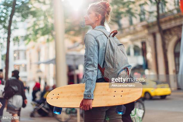 Me and my skateboard