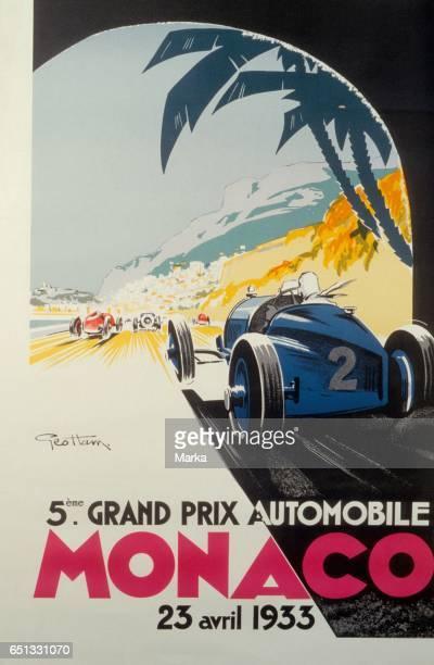 5me Grand Prix Automobile Monaco 23 Avril 1933 By Geo Ham