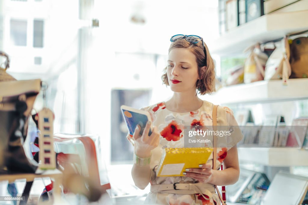 Me in my store : Stock Photo