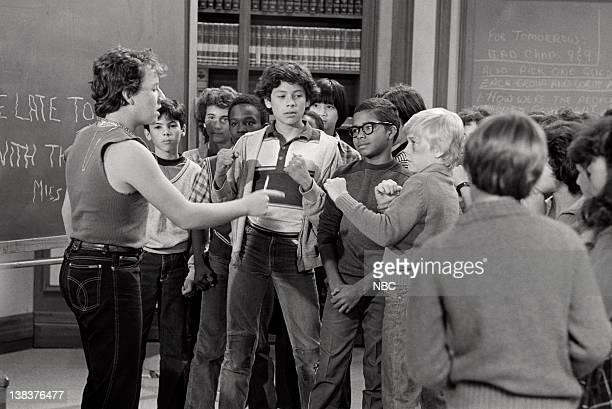 "Me & Mr. T"" Episode 4 -- Pictured: John P. Navin Jr. As Ox, Darien Dash as Clarence, Rick Schroder as Richard Bluedhorn Stratton"