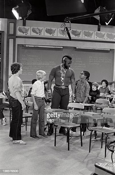 "Me & Mr. T"" Episode 4 -- Pictured: John P. Navin Jr. As Ox, Rick Schroder as Richard Bluedhorn Stratton, Mr. T as Mr. T, Darien Dash as Clarence"