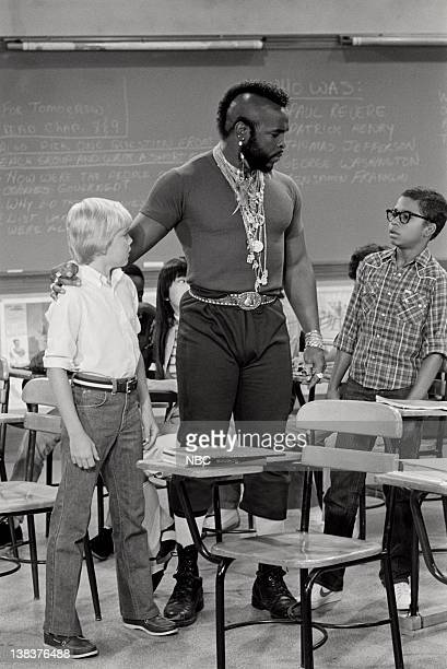 """Me & Mr. T"""" Episode 4 -- Pictured: Rick Schroder as Richard Bluedhorn Stratton, Mr. T as Mr. T, Darien Dash as Clarence"""