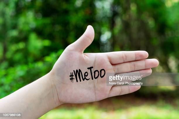 me too social movement - geschlechtsdiskriminierung stock-fotos und bilder