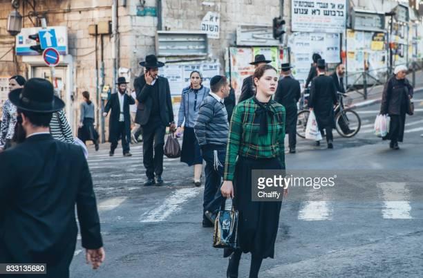 Mea Shearim Neiborhood in Jerusalem