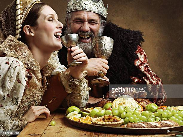 mead and merriment - royal stock photos and pictures