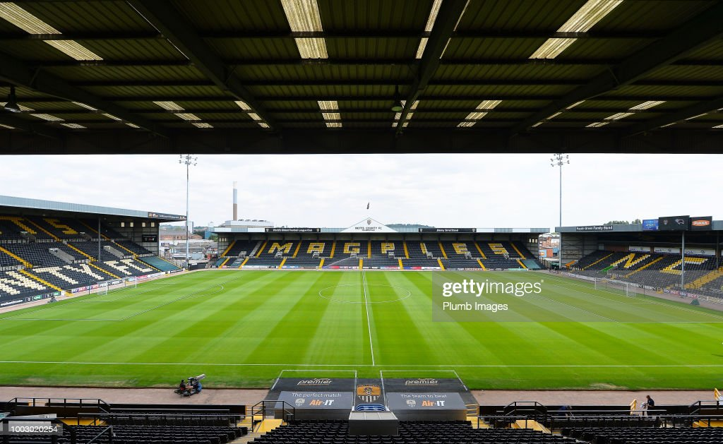 Notts County v Leicester City - Pre-Season Friendly