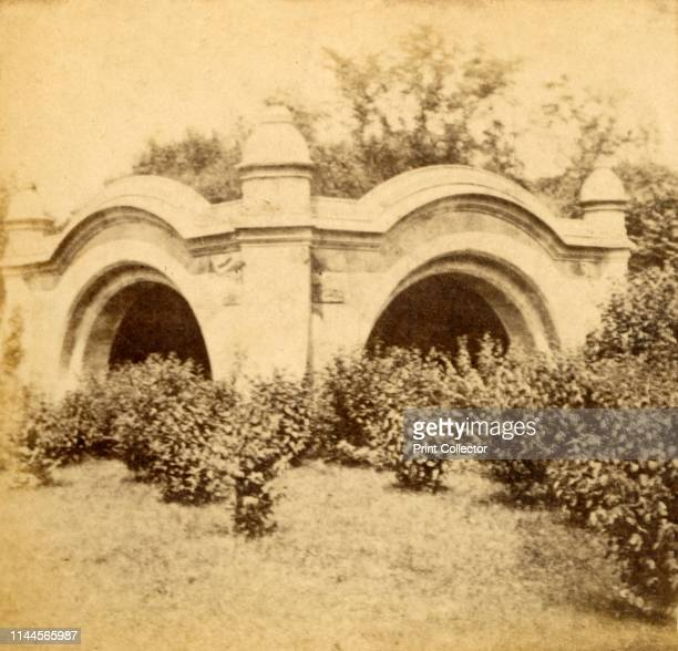 Meadow Port Arches Prospect Park' circa 1880s Meadowport Arch in Prospect Park New York USA was built 18681870 It is a limestone folly with 100foot...