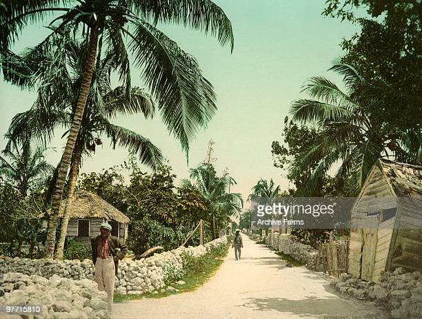 Meadow Street in Bain's Town Nassau Bahamas