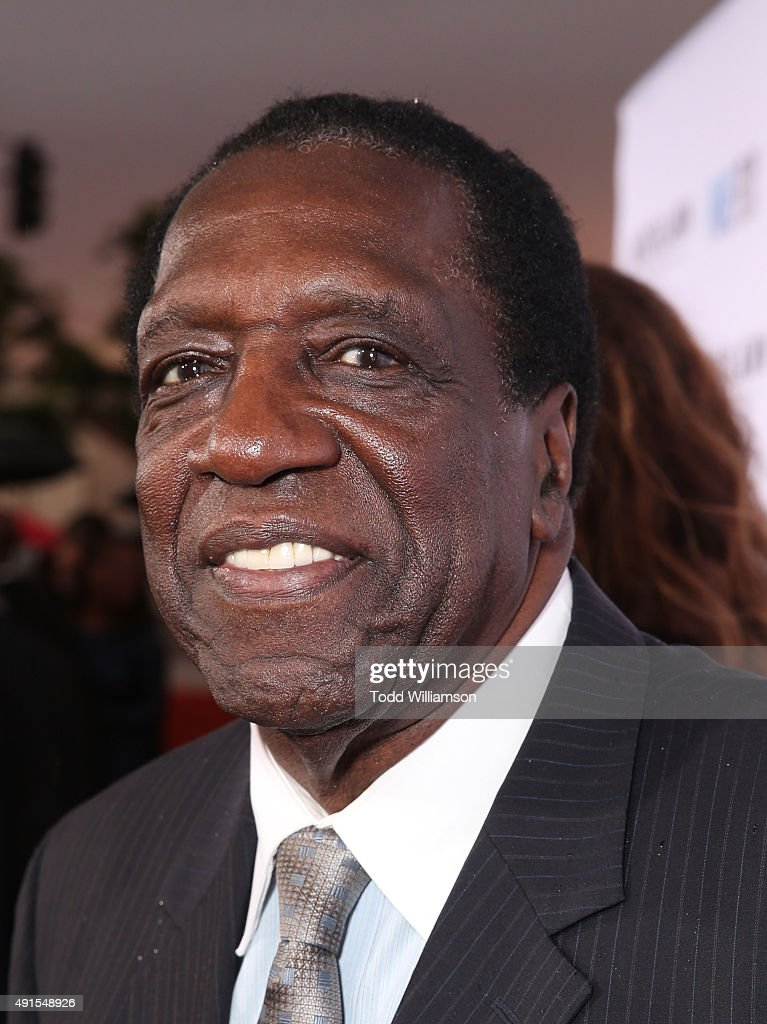 Meadowlark Lemon attend the LA Premiere Of Pure Flix's 'Woodlawn' at the Bruin Theater on October 5, 2015 in Los Angeles, California.