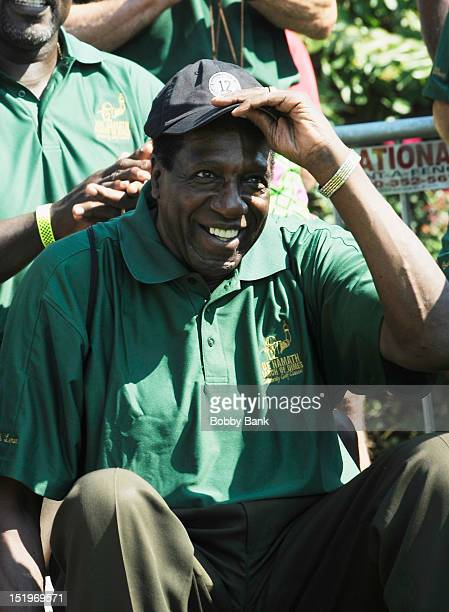 Meadowlark Lemon attends the Joe NamathMarch of Dimes Celebrity Golf Classic at the Bethpage State Park Golf Course on September 13 2012 in...