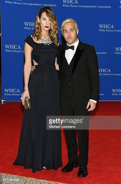 Meagan Camper and musician Pete Wentz attend the 101st Annual White House Correspondents' Association Dinner at the Washington Hilton on April 25...