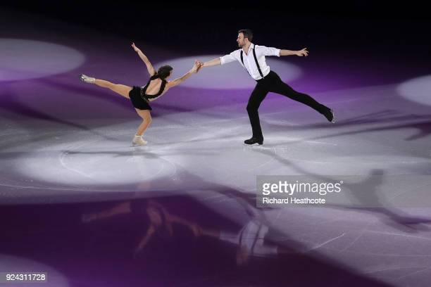 Meagan Duhamel and Eric Radford of Canada perform during the Figure Skating Gala Exhibition on day 16 of the PyeongChang 2018 Winter Olympics at...