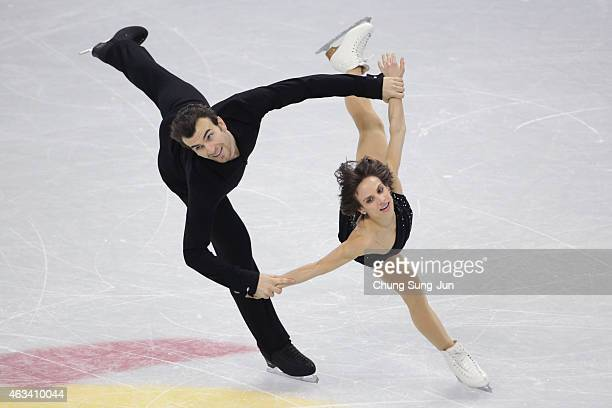 Meagan Duhamel and Eric Radford of Canada perform during the Pairs Free Skating on day three of the ISU Four Continents Figure Skating Championships...