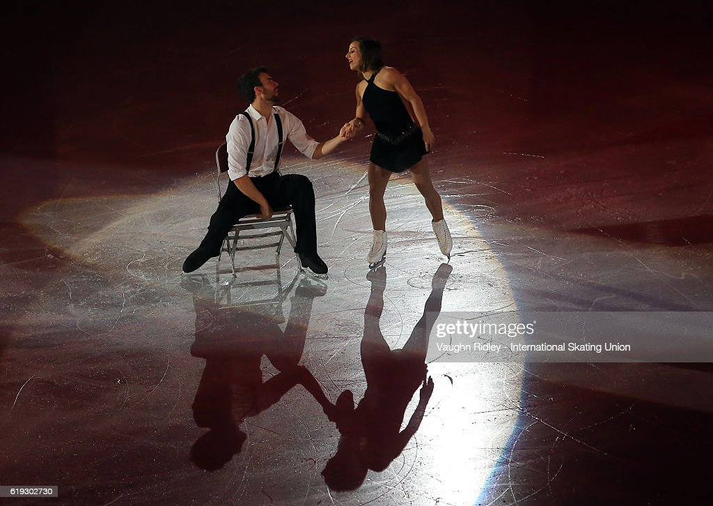 Meagan Duhamel and Eric Radford of Canada perform in the Exhibition Gala during the ISU Grand Prix of Figure Skating Skate Canada International at Hershey Centre on October 30, 2016 in Mississauga, Canada.