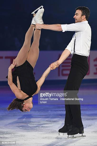 Meagan Duhamel and Eric Radford of Canada perform in the gala exhibition during the ISU Grand Prix of Figure Skating NHK Trophy on November 27 2016...