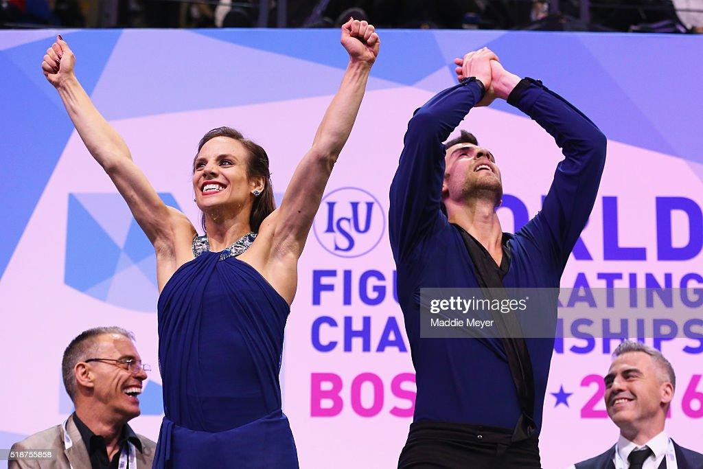 ISU World Figure Skating Championships 2016 - Day 6