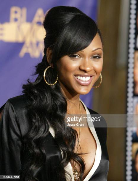 Meagan Good 12556_JG_0354jpg during 2006 TNT Black Movie Awards Arrivals at Wiltern Theatre in Los Angelses California United States