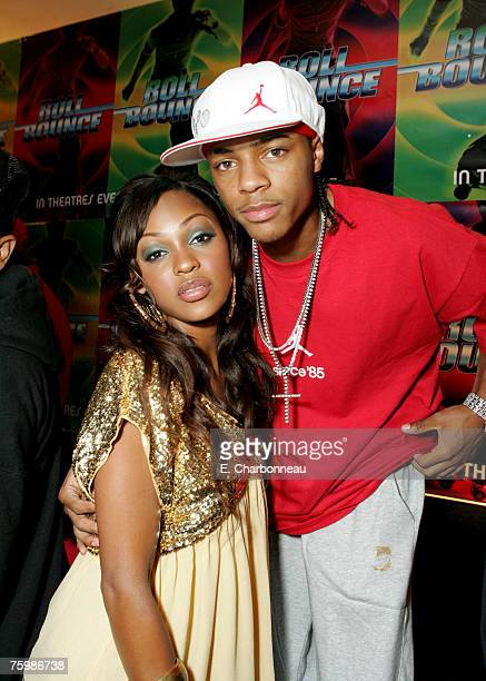 Meagan Good and Bow Wow