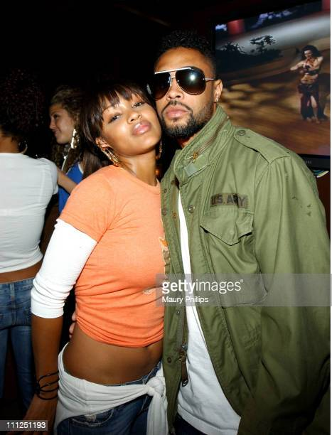 Meagan Good and Jerrry Manuel during GoodLife Entertainment and Echoing Soundz Presents Moon Over Morocco at Vine Street Lounge in Hollywood...