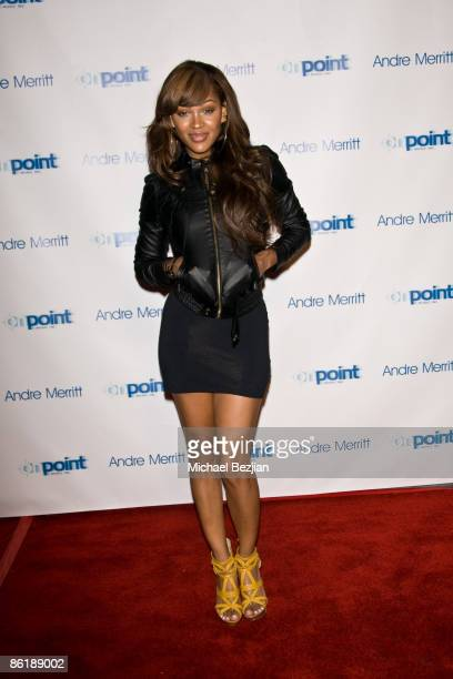 Meagan Good attends Andre Merritt's ASCAP Awards AfterParty at the Hwood on April 22 2009 in Hollywood California