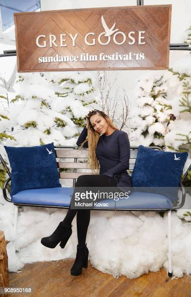 Meagan Good attends as Grey Goose Blue Door hosts the casts of gamechanging films during the Sundance Film Festival at The Grey Goose Blue Door on...