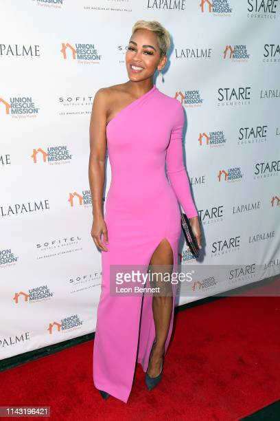 Meagan Good attends Lapalme Magazine's Party for Cover Stars Anthony Anderson And Meagan Good at Sofitel Los Angeles At Beverly Hills on April 16...
