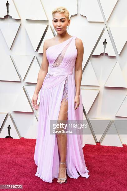 Meagan Good attends the 91st Annual Academy Awards at Hollywood and Highland on February 24 2019 in Hollywood California