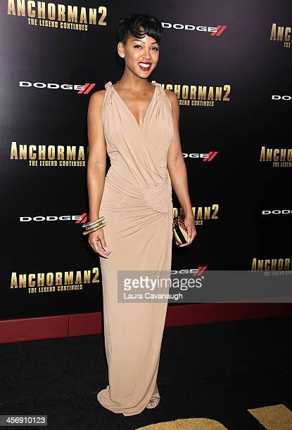"""Meagan Good attends the """"Anchorman 2: The Legend Continues"""" U.S. Premiere at Beacon Theatre on December 15, 2013 in New York City."""
