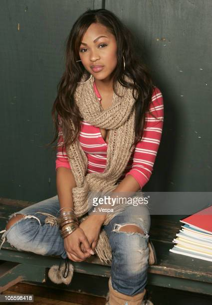 Meagan Good during 2005 Sundance Film Festival Brick Portraits at HP Portait Studio in Park City Utah United States