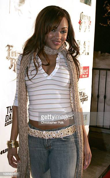 Meagan Good during 2005 Sundance Film Festival Hustle and Flow After Party at Premiere Lounge in Park City Utah United States