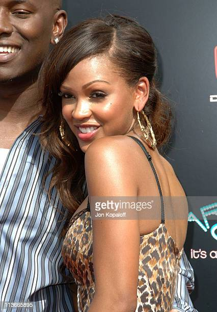 Meagan Good during 2006 BET Awards Arrivals at The Shrine in Los Angeles California United States