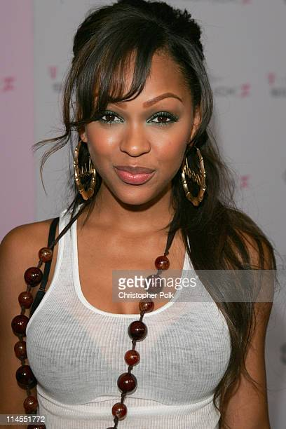 Meagan Good during TMobile Limited Edition Sidekick II Launch Red Carpet at TMobile Sidekick II City in Los Angeles California United States