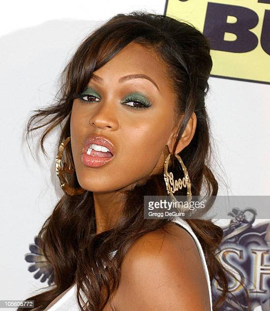 Meagan Good during Usher Hosts Exclusive TRUTH TOUR DVD Launch Party at Hollywood Roosevelt Hotel in Hollywood California United States