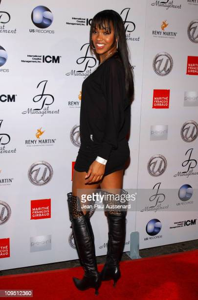 Meagan Good during Usher's 25th Birthday Bash Flashback 1978 Arrivals at Pearl in West Hollywood California United States