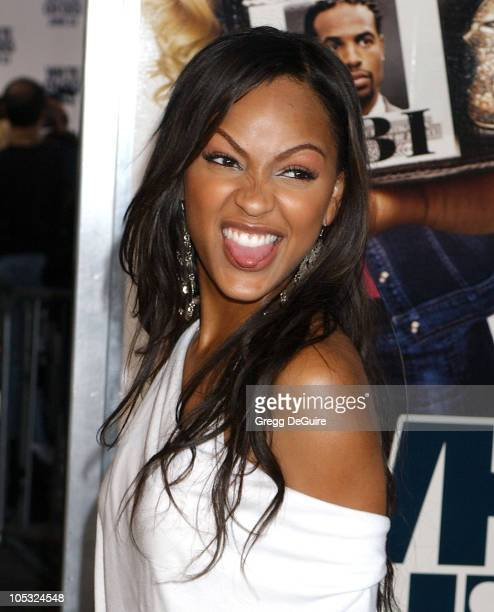 Meagan Good during 'White Chicks' Premiere at Mann Village Theatre in Westwood California United States