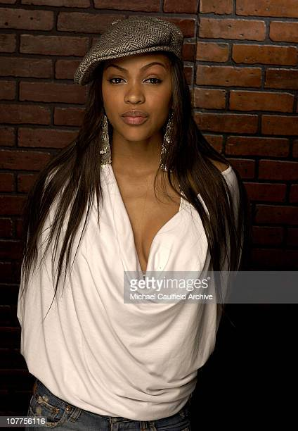 Meagan Good in 'DEBS' during CineVegas 2004 Portrait Studio Day 1 at The Palms Hotel in Las Vegas California United States