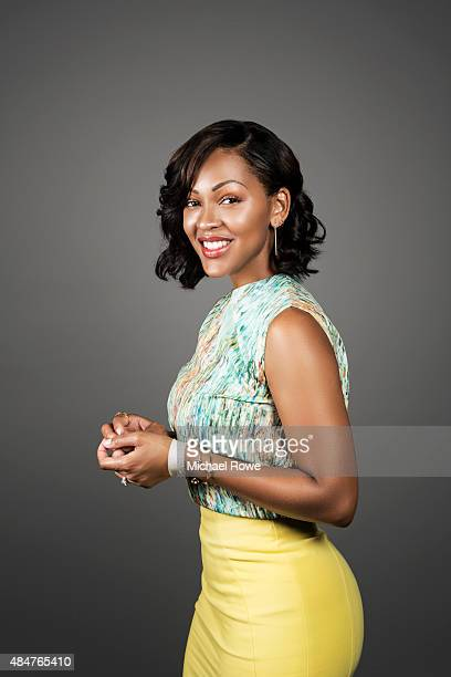 Meagan Good is photographed at the 2015 Essence Festival for Essence Magazine on July 3 2015 in New Orleans Louisiana