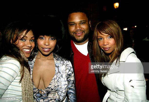 Meagan Good Paula Jai Parker Anthony Anderson and Elise Neal