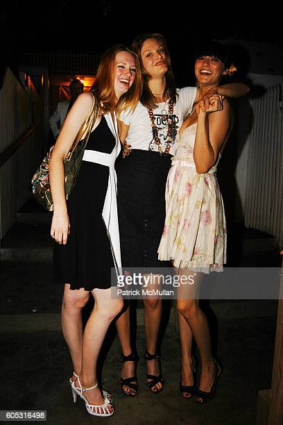 Meagan Moore Victoria Setrier and attend DJ Cassidy and Fonzworth Bentley Host BUNNY CHOW Sunday at CAIN Southampton Club on May 28 2006 in...