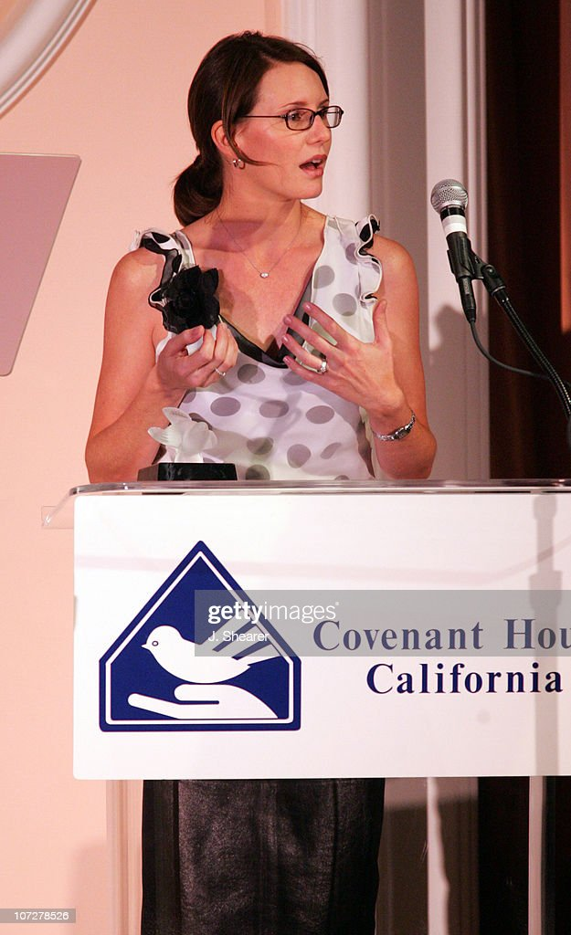 Meagan Riley-Grant, Executive Producer, 'Monster' during Covenant House California's Youth Awards Dinner Gala Honoring Charlize Theron and Sharon Osbourne at The Beverly Hills Hotel in Beverly Hills, California, United States.