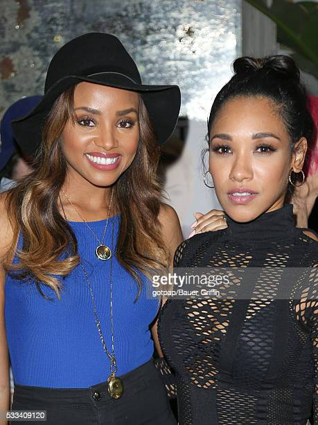 Meagan Tandy and Candace Patton are seen on May 21 2016 in Los Angeles California