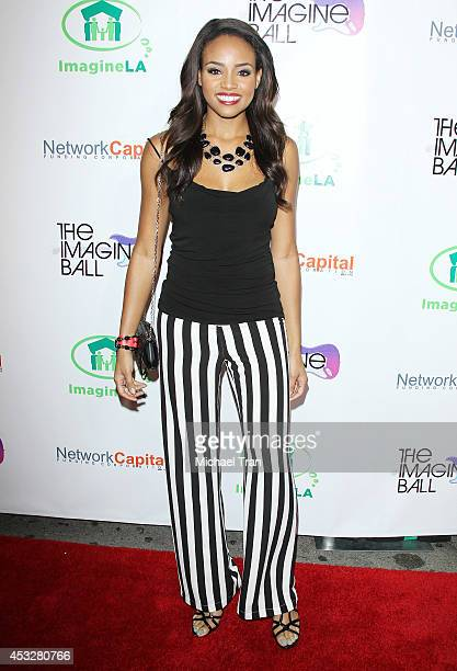 Meagan Tandy arrives at The Imagine Ball held at House of Blues Sunset Strip on August 6 2014 in West Hollywood California
