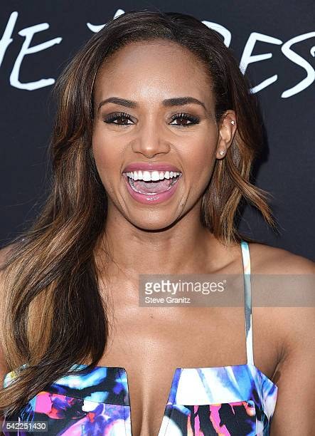 Meagan Tandy arrives at the Premiere Of A24's 'Into The Forest' at ArcLight Hollywood on June 22 2016 in Hollywood California
