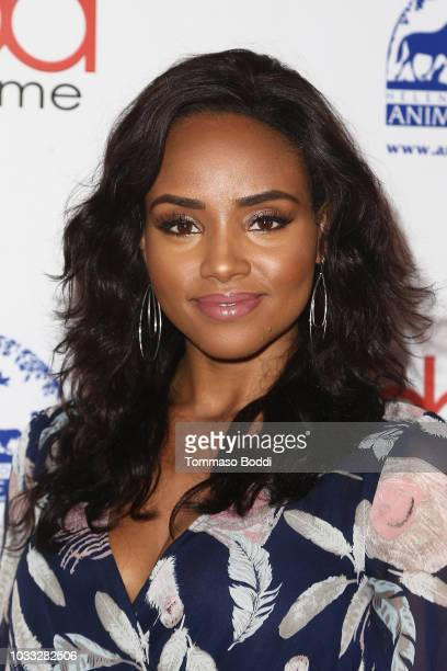Meagan Tandy attends the 2018 Daytime Hollywood Beauty Awards on September 14 2018 in Hollywood California