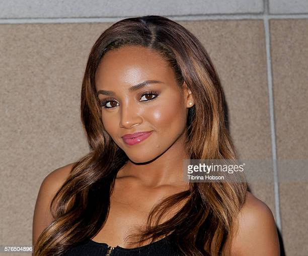 Meagan Tandy attends the Matt Leinart Foundation's 10th annual Celebrity Bowl for Charity Event at Lucky Strike Lanes on July 14 2016 in Hollywood...