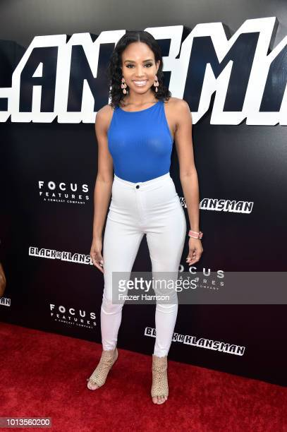 Meagan Tandy attends the Premiere Of Focus Features' BlacKkKlansman at Samuel Goldwyn Theater on August 8 2018 in Beverly Hills California