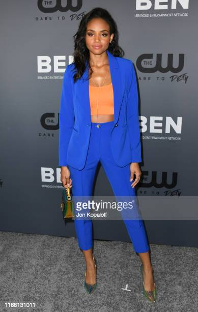 Meagan Tandy attends the The CW's Summer 2019 TCA Party sponsored by Branded Entertainment Network at The Beverly Hilton Hotel on August 04 2019 in...