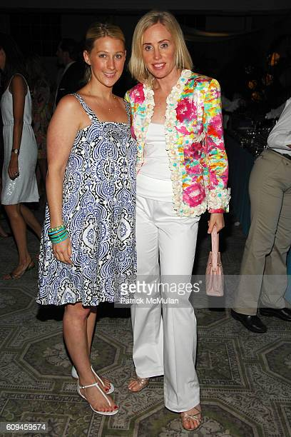 Meaghan Feodoroff and Amy Hoadley attend THE BEACH BALL' Annual Spring Fundraiser hosted by JCrew The Associates Committee of THE SOCIETY OF MEMORIAL...