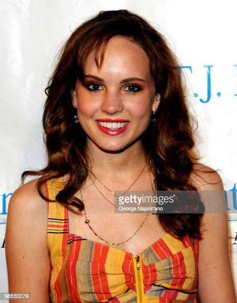 Meaghan Martin attends the 11th Annual TJ Martell Foundation Family Day benefit on April 18 2010 in New York City